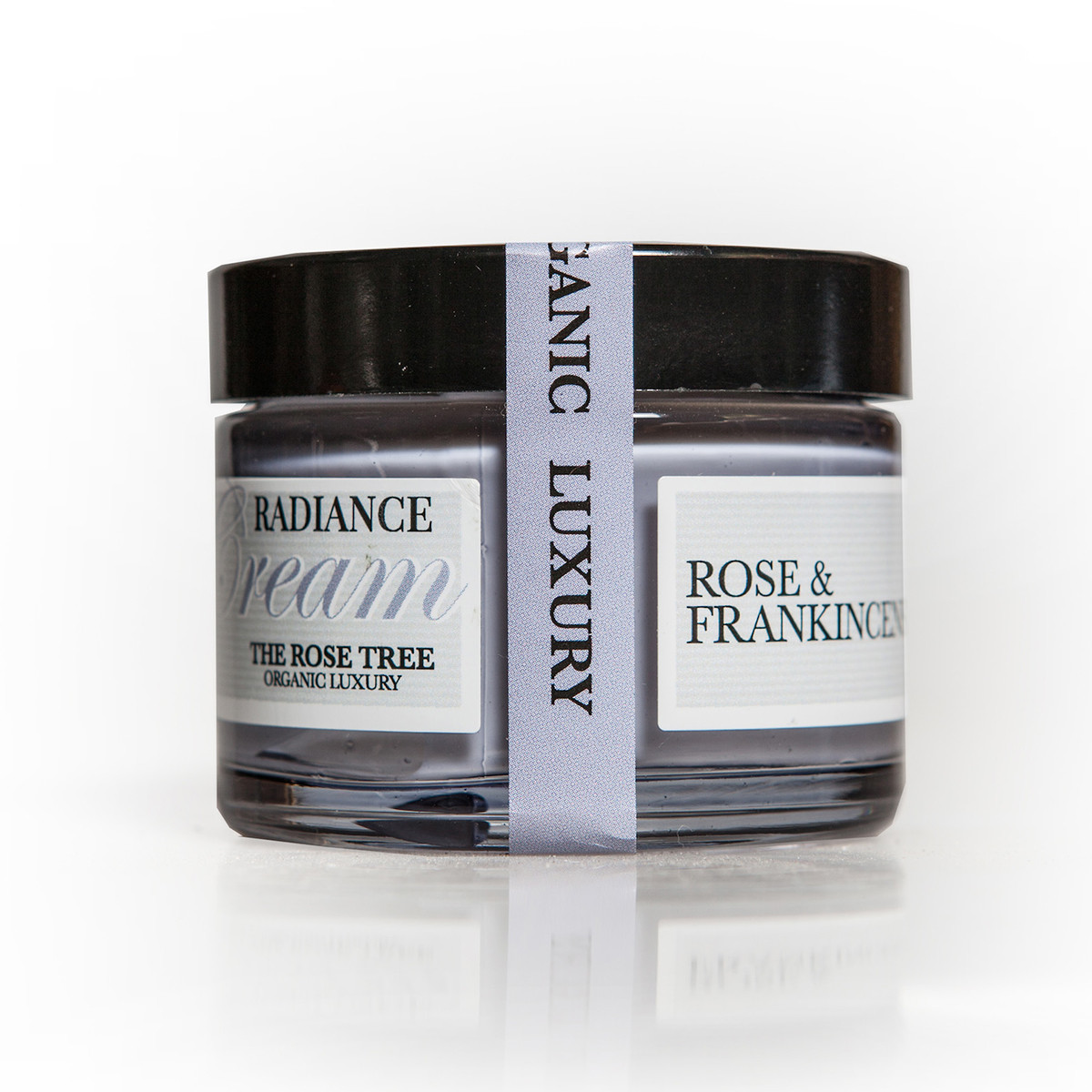 The Rose Tree Rose and Frankinsense brightening radiance cream.